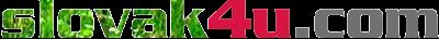 Slovak4U.com | Slovenčina | Angličtina | Slovak | English Logo